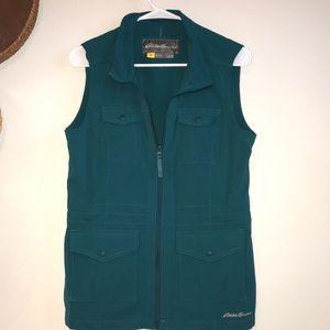 Teal Eddie Bauer vest